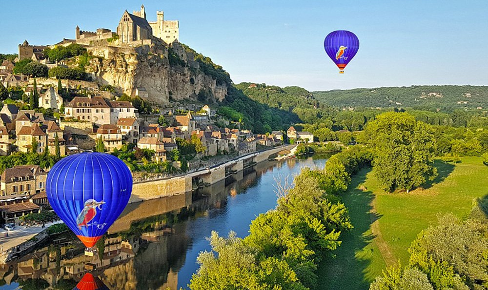promenades aériennes-Perigord-Dordogne-Montgolfiere